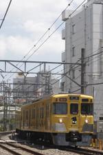 2017年7月13日、高田馬場~下落合、2007Fほかの2321レ。