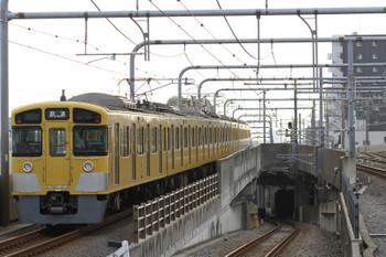 2017年7月16日 6時12分ころ、練馬、通過した2087Fの上り回送列車。