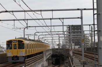 2017年7月17日 6時12分ころ、練馬、2077Fの上り回送列車。
