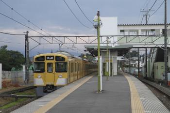 2017年7月22日 17時49分ころ、元加治、2085Fの下り回送列車。