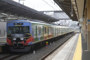 2017年8月19日 13時22分ころ、新所沢、2番ホームから発車した20158Fの下り臨時。