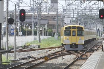 2017年8月19日 13時41分ころ、新所沢、会場からの臨時列車で到着した2093Fが一旦 南入曽車両基地へ戻りました。