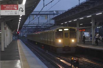 2017年9月6日 5時30分ころ、所沢、2051Fの上り回送列車。