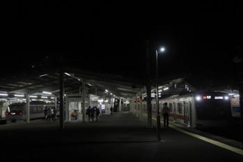 2017年9月8日 21時57分ころ、西所沢、東急5156Fの8303レ。