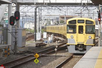 2017年10月1日 14時0分ころ、所沢、本川越方へ発車した「同窓会電車」。