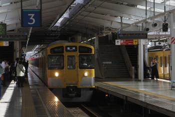2017年9月18日12時49分ころ、飯能、2089Fの高麗始発と思われる臨時列車。