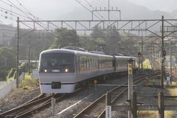 2017年9月19日 7時10分ころ、横瀬、電留線から出てきた10107F。