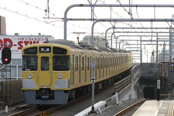 2017年9月9日 6時12分ころ、練馬、通過した2075Fの上り回送列車。この車両、夕方に意外な列車に入ってました。