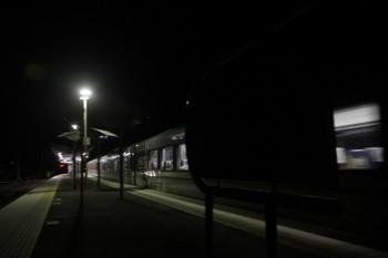 2017年9月18日 18時34分ころ、芦ケ久保、2番ホームを通過する10104F(川越プラチナ)の44レ。