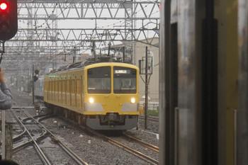 2017年10月15日 14時25分ころ、小手指、3番ホームへ到着する263F+40103F(5両)の下り回送列車。