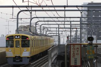 2017年10月8日 6時13分ころ、練馬、通過した2079Fの上り回送列車。
