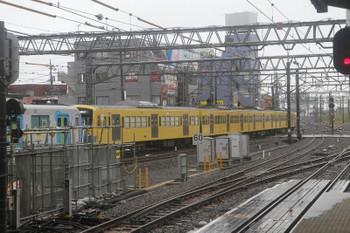 2017年10月15日 11時9分ころ、所沢、6番線から小手指へ発車した263F+40103F5両の下り回送列車。