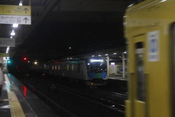 2017年10月21日 17時56分ころ、仏子、。通過するS-Train 404レ。