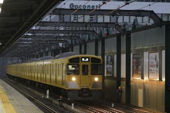 2017年10月22日 6時12分ころ、練馬、2069Fの上り回送列車。