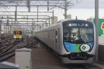 2017年10月31日、石神井公園、HMが付いた40101Fの4654レ。