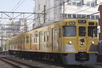 2017年11月1日、高田馬場〜下落合、2007Fの5135レ。