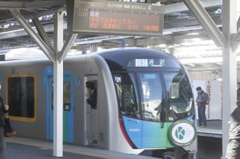 2017年11月11日 8時49分ころ、所沢、所沢で運転打ち切りの401レだった40101Fの回送列車が4番ホームから発車。
