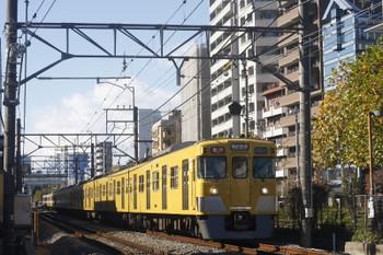 2017年11月16日、高田馬場〜下落合、2031F+2515Fの2644レ。