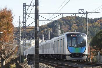 2017年11月25日、仏子〜元加治、40103Fの2127レ。