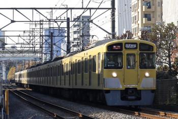2017年12月5日、高田馬場〜下落合、2095F+2403Fの2338レ。