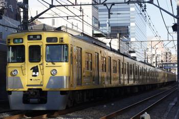 2017年12月6日、高田馬場〜下落合、2007F+2419Fの4307レ。