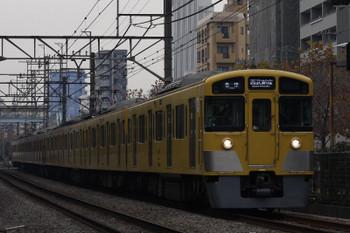 2017年12月8日、高田馬場〜下落合、2533F+2511Fの5128レ。