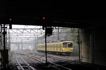 2017年10月21日 14時1分ころ、新秋津、西武線へ戻る263F。