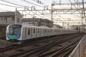 2017年11月25日 15時31分ころ、西所沢、1番ホームから発車した40104Fの上り臨時列車。