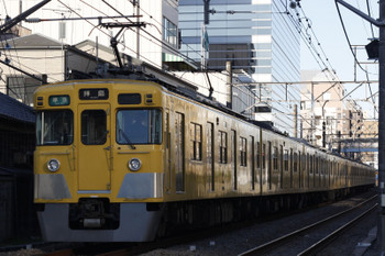 2018年1月11日、高田馬場~下落合、2403F+2083Fの4307レ。