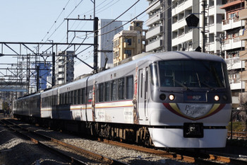 2018年1月12日、高田馬場~下落合、10104Fの120レ。