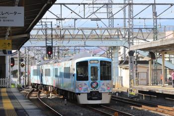 2017年12月2日 12時8分ころ、仏子、中線から西武秩父へ発車した4009F。