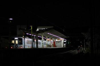 2017年4月15日 18時55分ころ、元加治、通過する4009Fの上り列車。