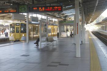 2017年11月3日 8時43分ころ、入間市、到着する9102Fの臨時急行 入間市ゆき。