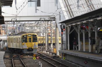 2017年11月3日 7時25分ころ、所沢、4番ホームから発車した9107Fの上り回送列車。