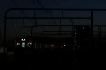 2018年1月13日 6時13分ころ、練馬、2075Fの上り回送列車。