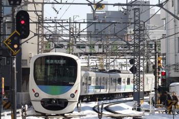 2018年1月23日 12時6分ころ、高田馬場~下落合、30106Fの準急 西武新宿ゆき。