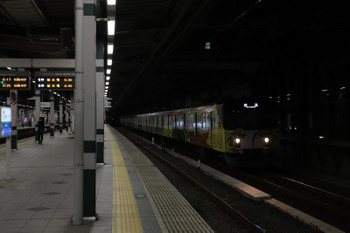 2018年1月21日 6時11分ころ、練馬、通過する20158Fの上り回送列車。