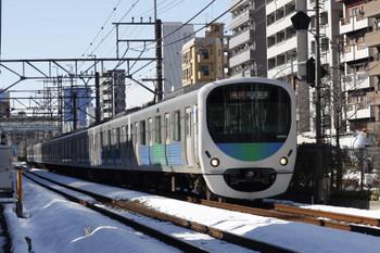 2018年1月24日、高田馬場~下落合、2650レは30105F。