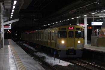 2018年1月26日 5時29分ころ、所沢、2027Fの上り回送。
