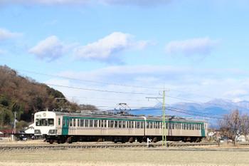2018年1月1日、山名〜西山名、151+152の34レ。