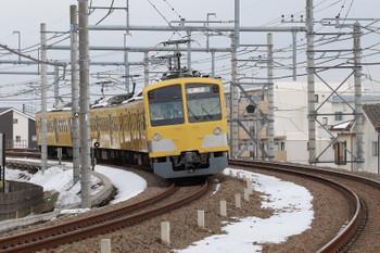 2018年1月28日 12時43分ころ、所沢~西所沢、263Fの上り回送列車。