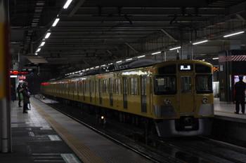2018年2月2日 5時32分ころ、所沢、2087Fの下り回送列車。