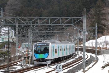 2018年1月28日、吾野、40104Fの401レ。