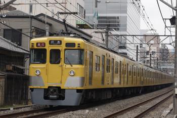 2018年2月23日、高田馬場~下落合、2405F+2081Fの2321レ。
