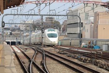 2018年2月25日 12時38分ころ、梅ヶ丘、VSEの下り列車。