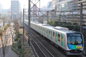 2018年3月4日 8時37分、高田馬場~下落合、40105Fの下り臨時列車。