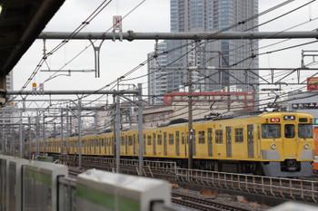 2018年3月9日、西武新宿~高田馬場、2419F+2059Fの2321レ。