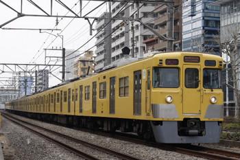 2018年2月28日、高田馬場〜下落合、2644レの2027F+2531F。