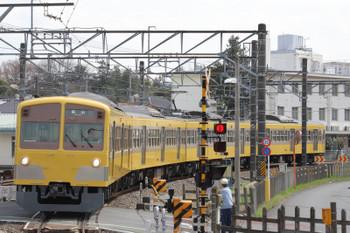 2018年3月24日、萩山、1249Fの6423レ。