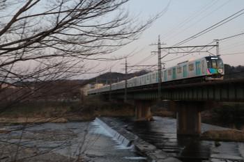 2018年3月25日、仏子~元加治、40101FのS-Train・404レ。